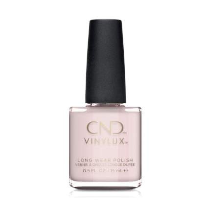 Light pink CND nail polish