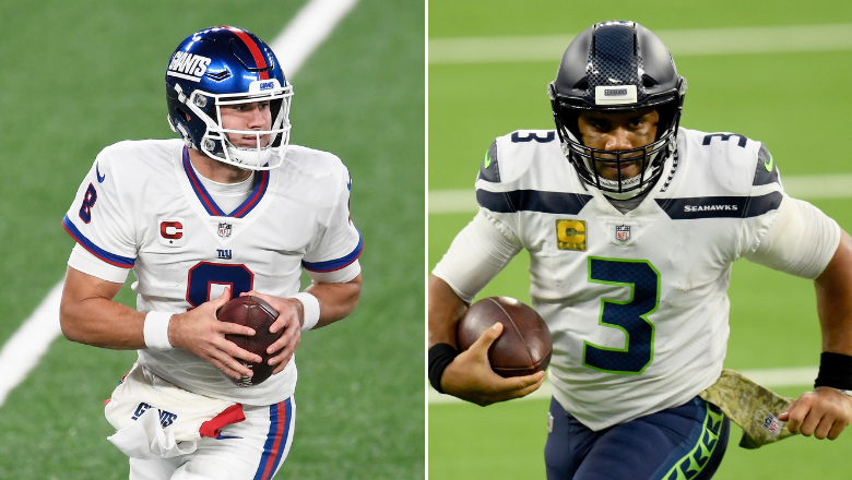Daniel Jones used as punchline to shade Russell Wilson