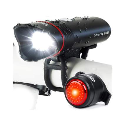 Cycle Torch Shark 500 USB Rechargeable Bike Headlight & Taillight