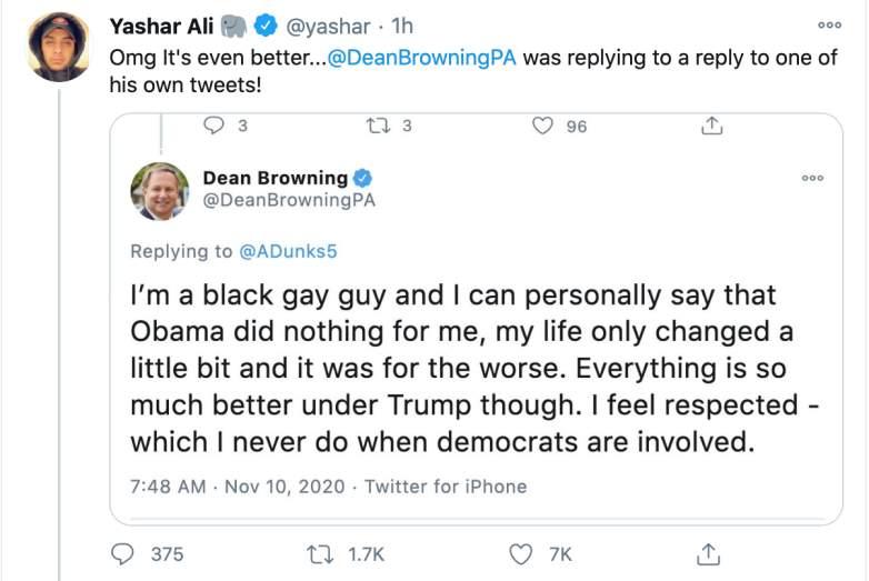 Dean Browning twitter