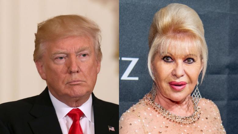 Ivana Trump, Trump election results