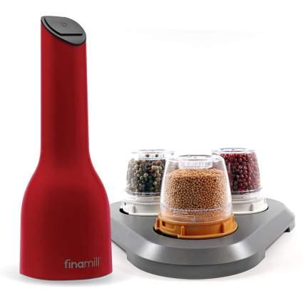 Red FinaMill grinder set