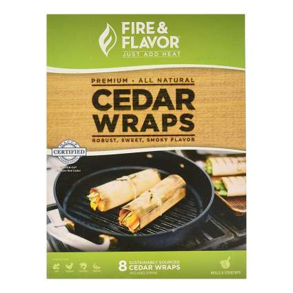 Fire and Flavor Cedar Wraps