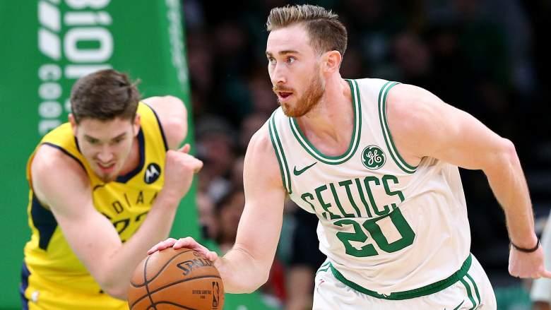 Gordon Hayward, Celtics forward and possible trade bait