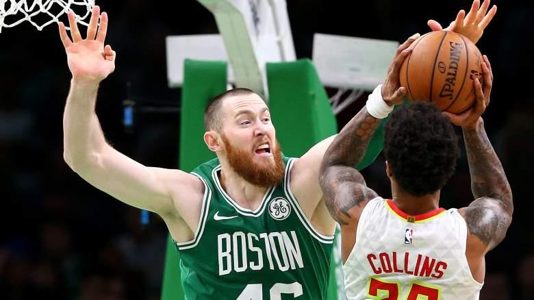 Former Celtics center Aron Baynes