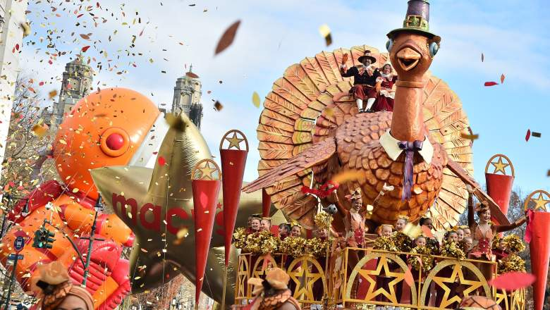 93rd Annual Macy's Thanksgiving Day Parade on November 28, 2019 in New York City.