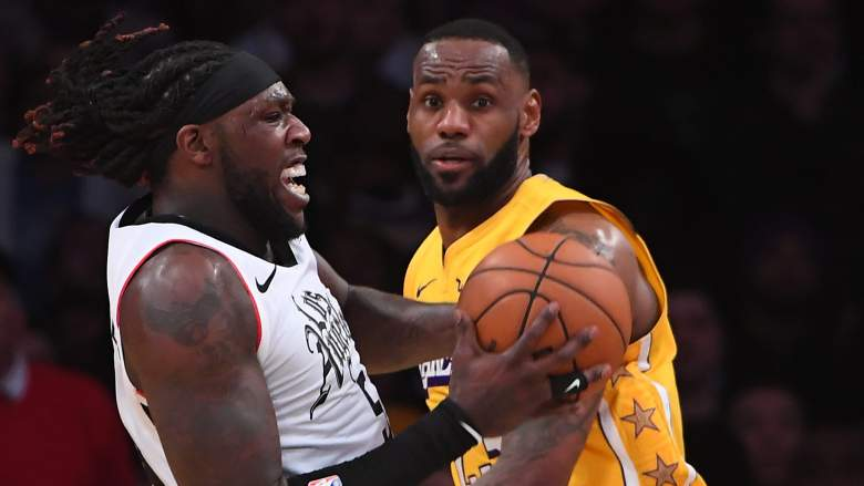 Montrezl Harrell, left, willteam up with LeBron James and the Lakers