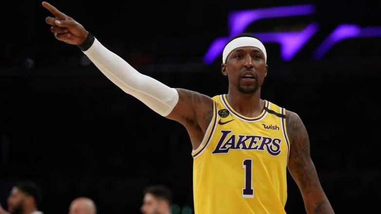 Kentavious Caldwell-Pope of the Lakers.