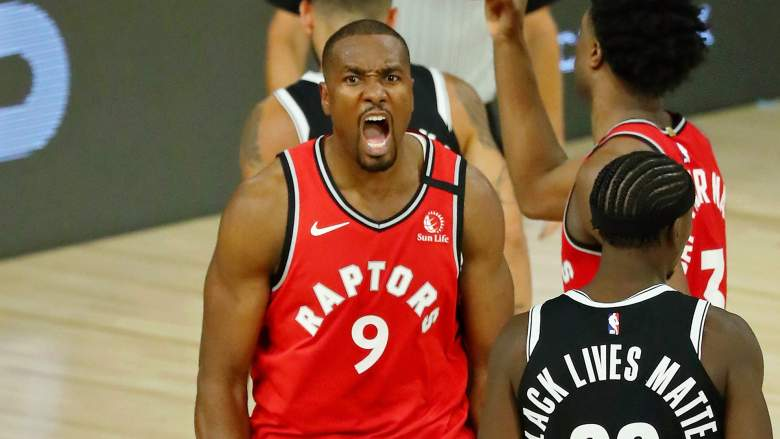 Serge Ibaka, one-time Lakers target, is now a Clipper.