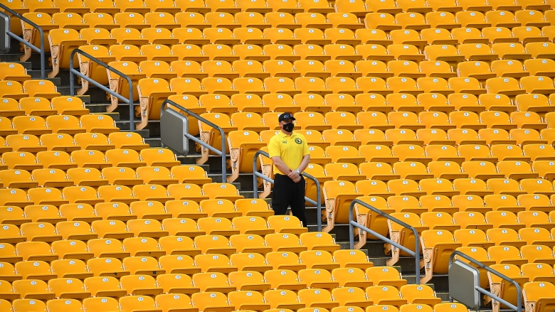 Heinz Field no fans