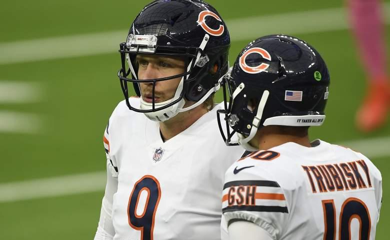 Nick Foles Mitch Trubisky Bears starter