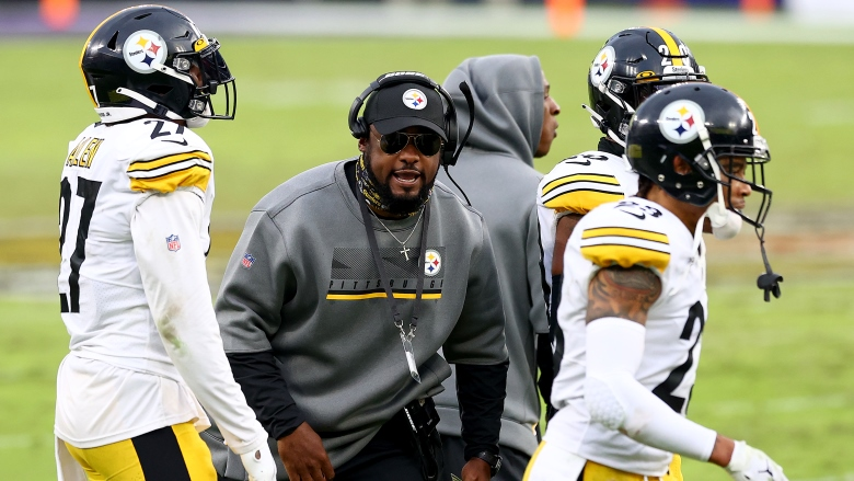 Mike Tomlin Steelers