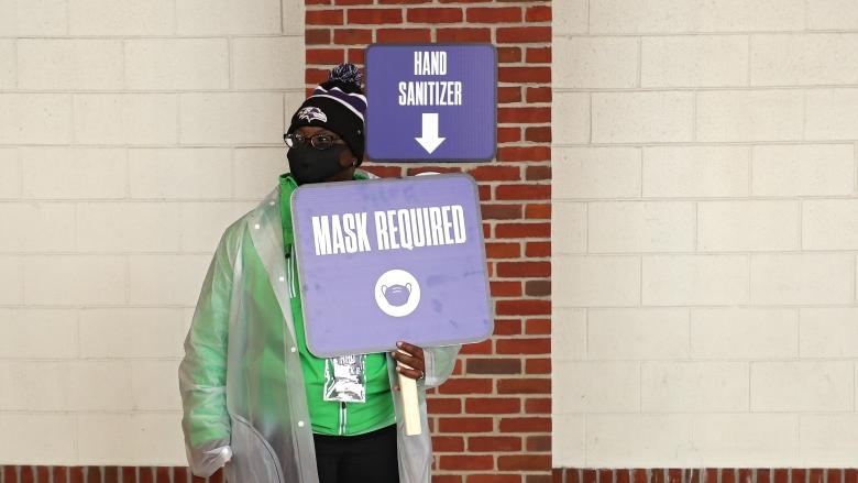 Ravens masks required