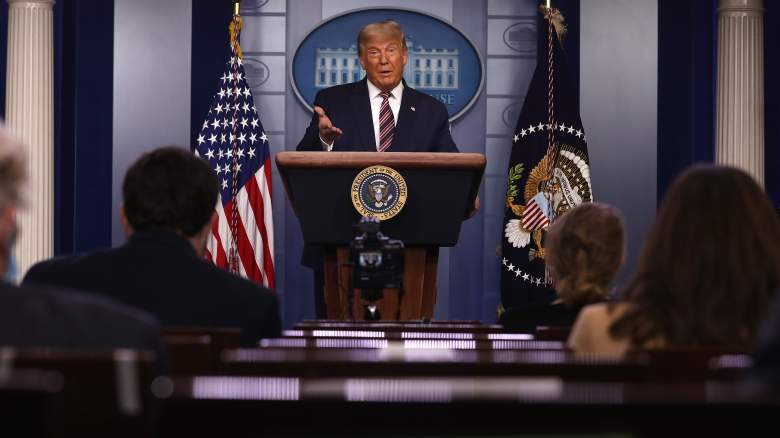 Trump press briefing loser