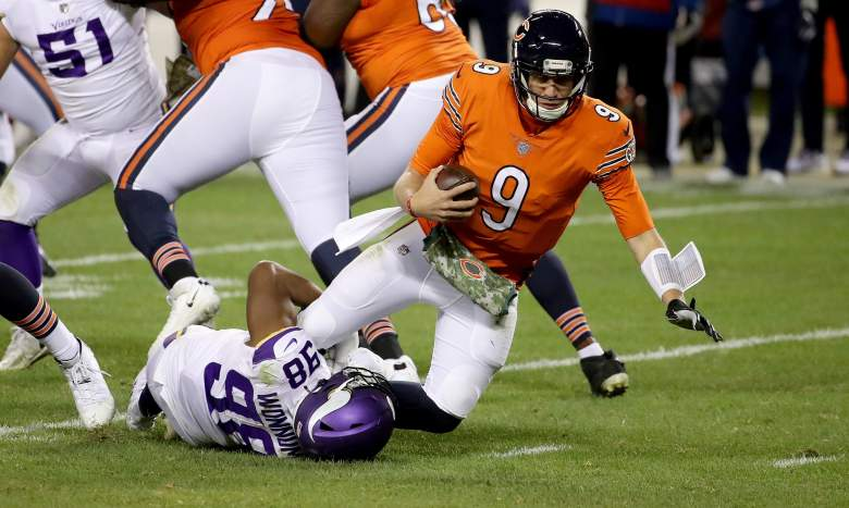 Bears QB Nick Foles injury