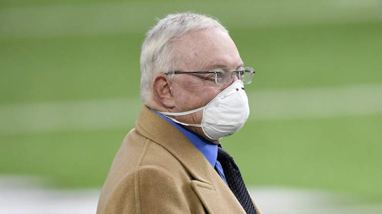 Cowboys owner/general manager Jerry Jones
