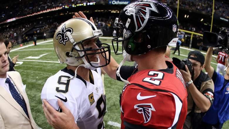 Falcons Saints