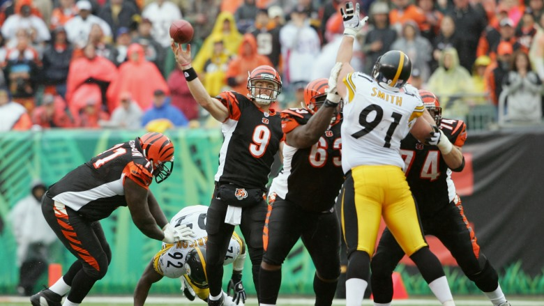 Carson Palmer vs Steelers 2005