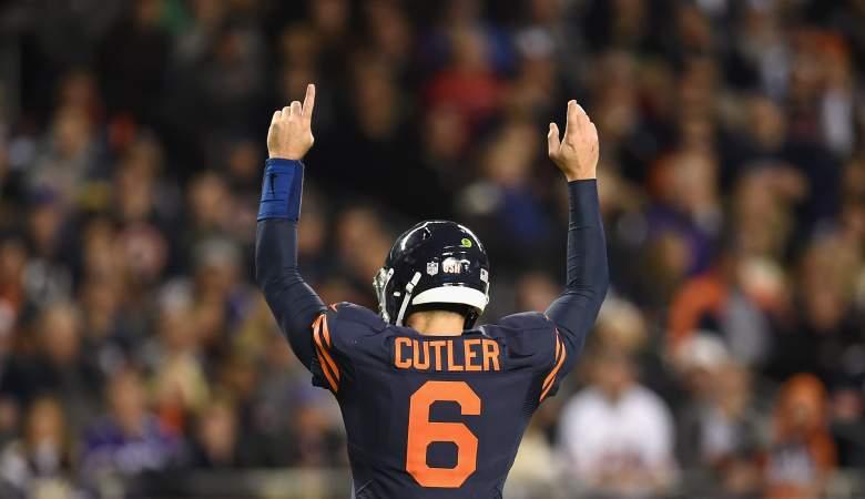 Bears fans Jay Cutler trending