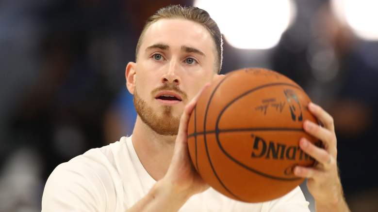 Gordon Hayward, former Boston Celtics forward.