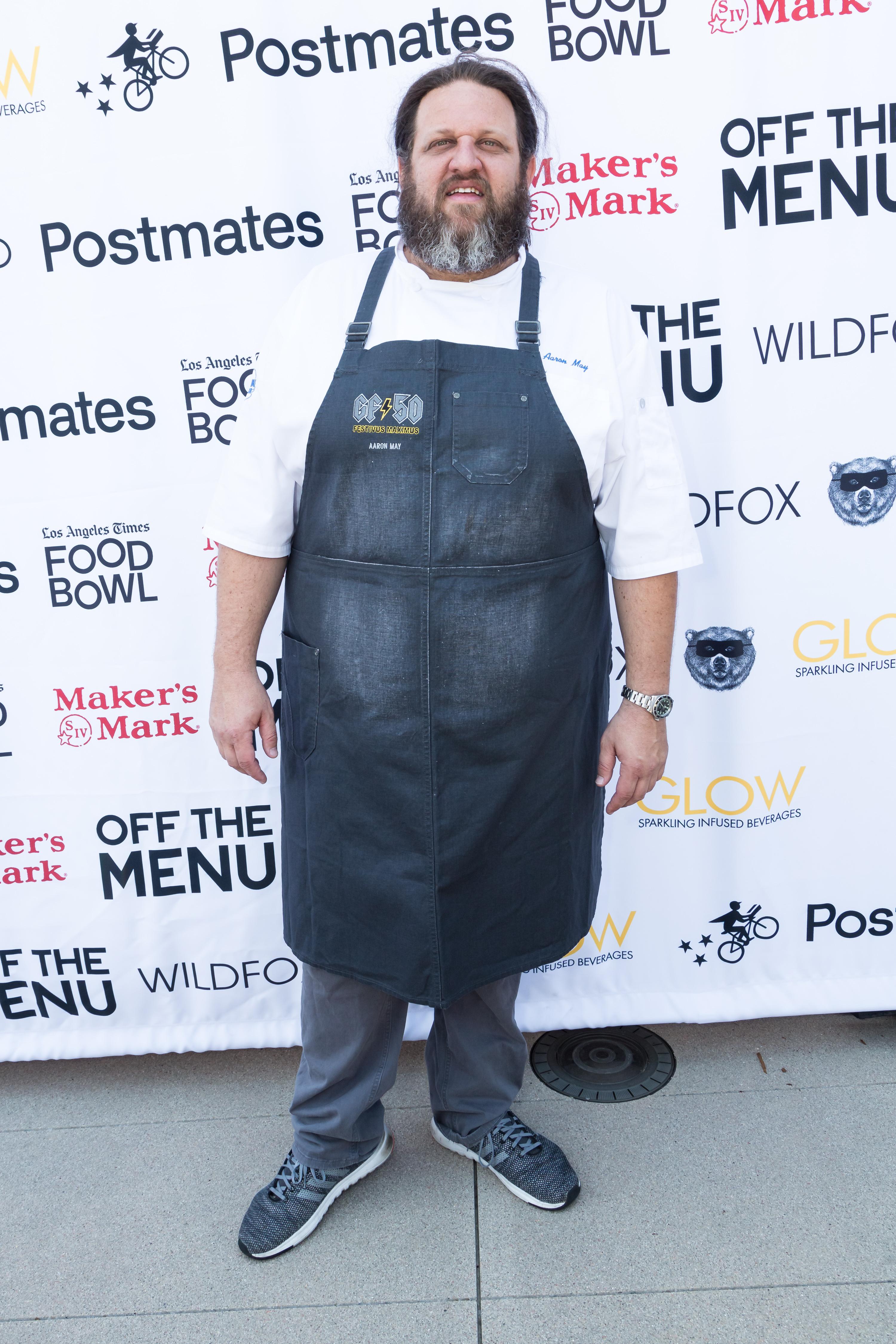 Aaron May chef charli d'amelio