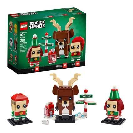 Lego Brickheadz Reindeer, Elf and Elfie