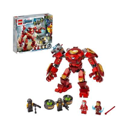 Lego Marvel Avengers Iron Man Hulkbuster Versus A.I.M. Agent