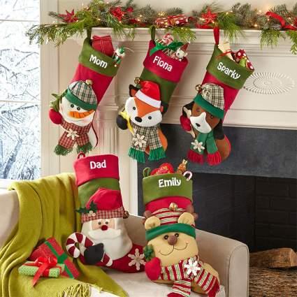 Lets Make Memories Christmas Stockings