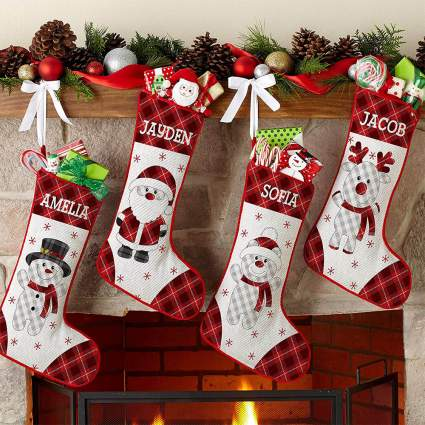 Lets Make Memories Stockings