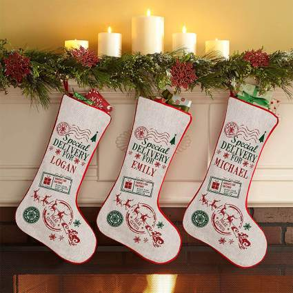 Lets Make Memorise Special Delivery Stockings