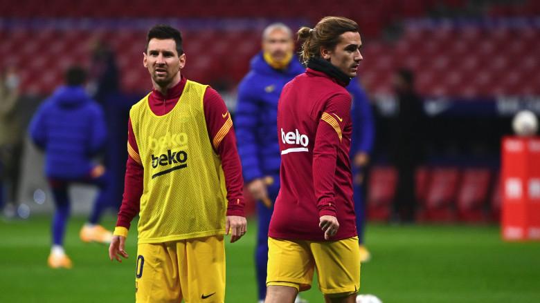 Lionel Messi and Antoine Griezmann(2)