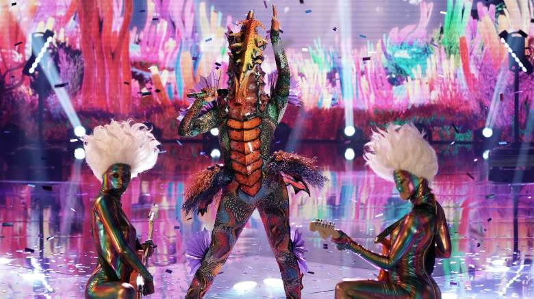 The Masked Singer Seahorse