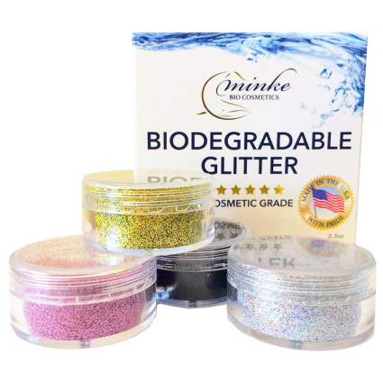 Bins of glitter