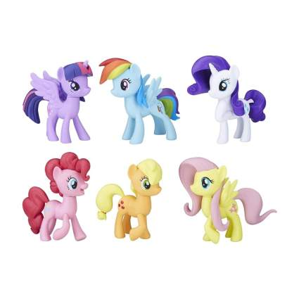 My Little Pony Toys Meet the Mane 6 Ponies Collection