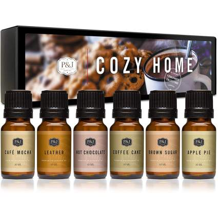 Fragrance oil sets