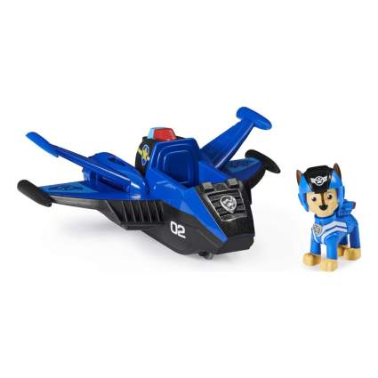 Paw Patrol Jet to The Rescue Chase's Deluxe Transforming Vehicle