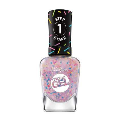 Speckled Sally Hansen nail polish