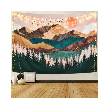 Sevenstars Mountain Landscape Tapestry