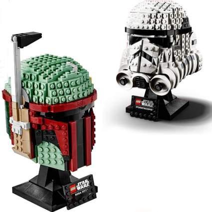 Star Wars Lego Helmets