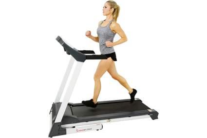 compact folding treadmill