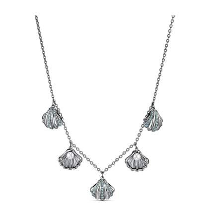 swarovski shell necklace