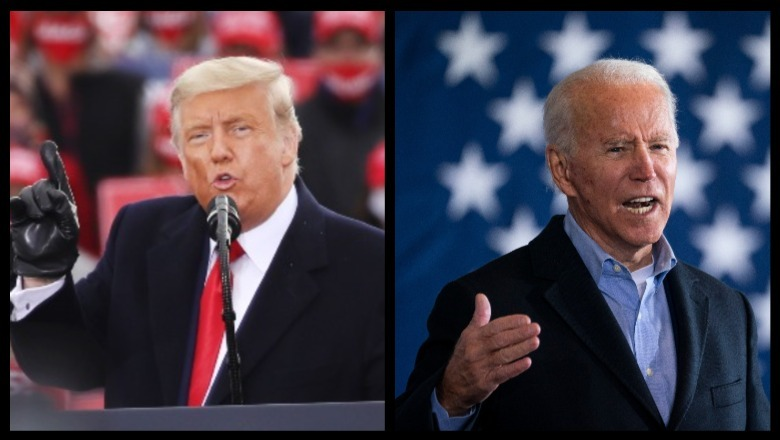 Biden vs Trump by Dwilson