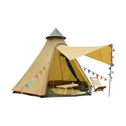 Vidalido 4-Season Double Layered 6-Person Dome Tent