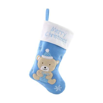 WEWILL First Christmas Stocking