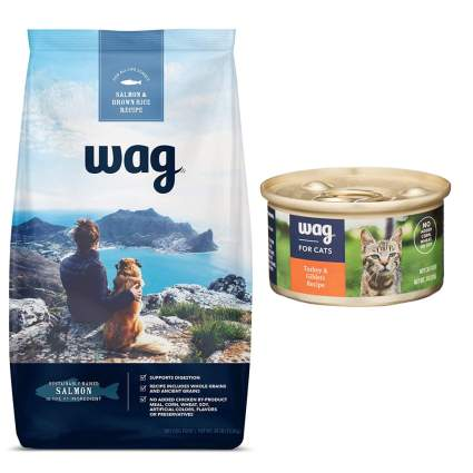 Wag dog and cat food