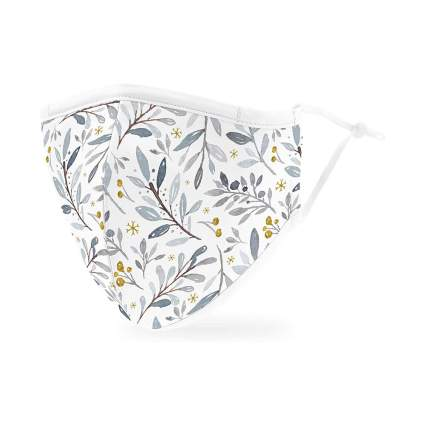 Weddingstar Winter Foliage Mask