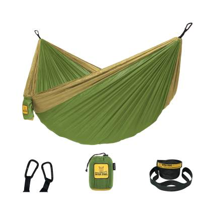 Wise Owl Outfitters Portable Hammock With Tree Straps