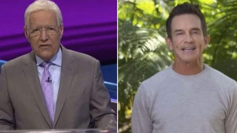 Jeff Probst appears on Jeopardy and Alex Trebek makes a very funny Survivor joke.