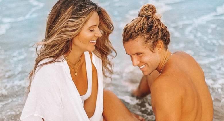 Angela Rummans and Tyler Crispen from Big Brother