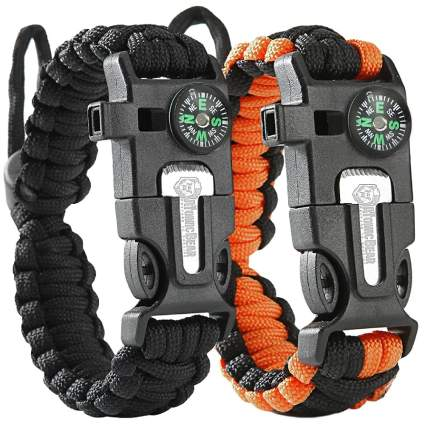 Atomic Bear Paracord Bracelet 2-Pack